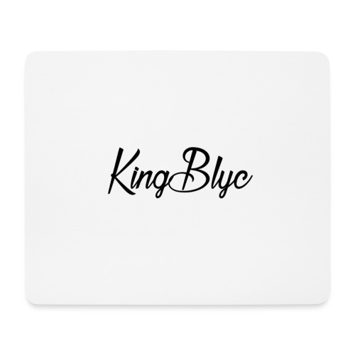 KingBlyc Logo 3 - Mouse Pad (horizontal)