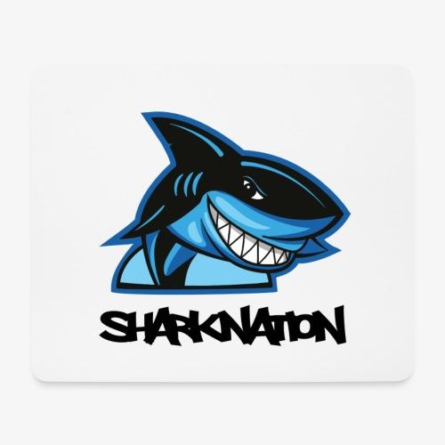 SHARKNATION / Black Letters - Mousepad (Querformat)