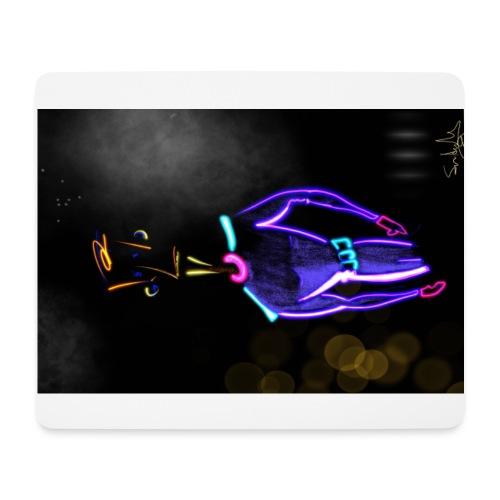Super Neon - Alfombrilla de ratón (horizontal)
