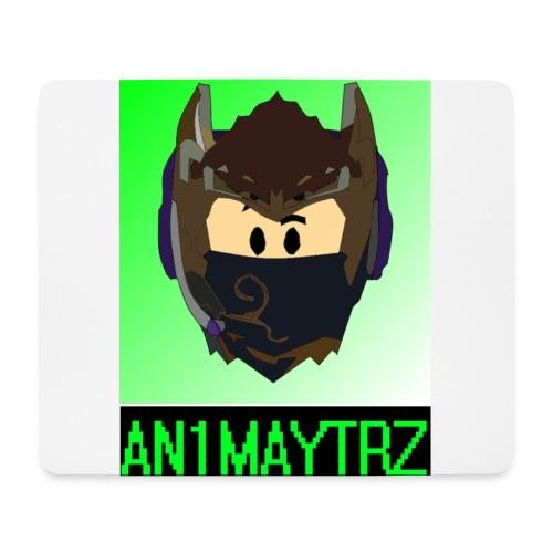 AN1MAYTRZ logo + title - Mouse Pad (horizontal)