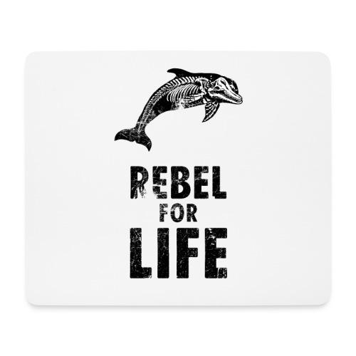 extinction rebellion just rebel - Mousepad (Querformat)