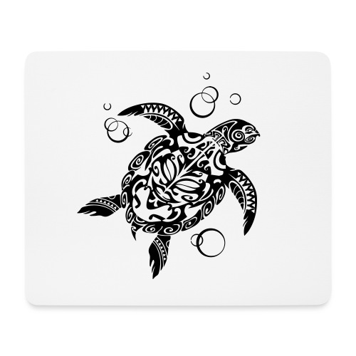 Watchful Turtle - Mouse Pad (horizontal)