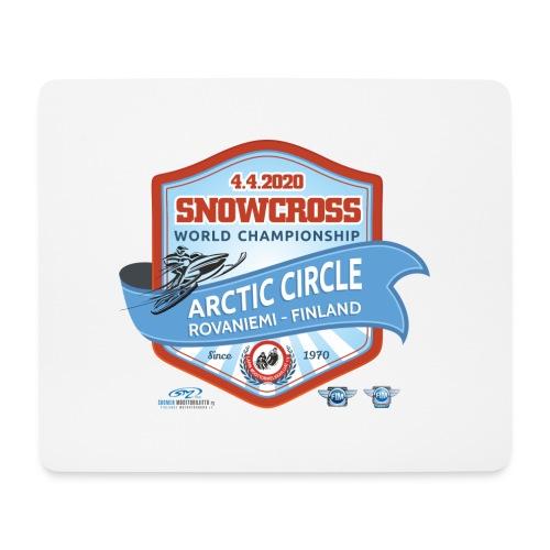 MM Snowcross 2020 virallinen fanituote - Hiirimatto (vaakamalli)