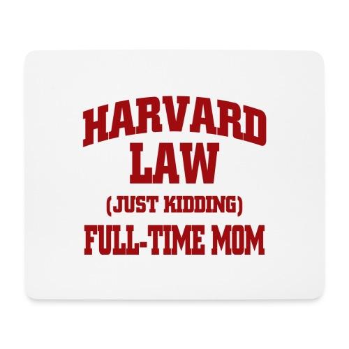 harvard law just kidding - Podkładka pod myszkę (orientacja pozioma)