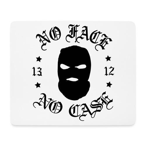 No Face, No Case - Skimask - musta iso printti - Hiirimatto (vaakamalli)