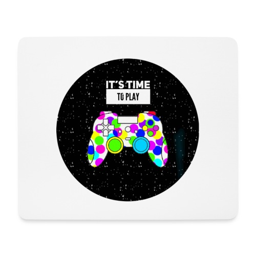 time to play - Mouse Pad (horizontal)