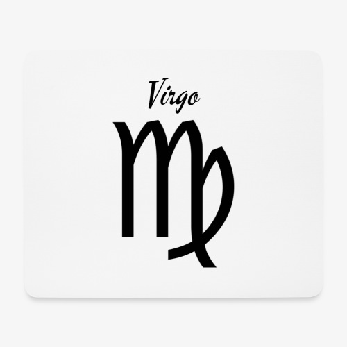 Virgo Sternzeichen T-Shirt - Mousepad (Querformat)