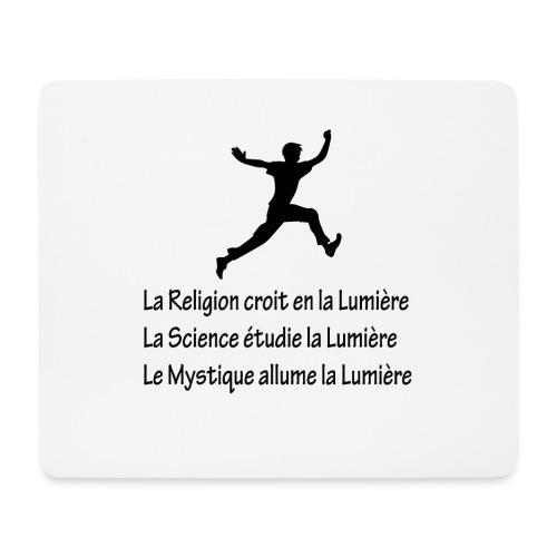 Lumière Religion Science Mystique - Tapis de souris (format paysage)