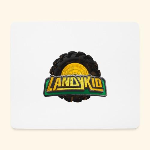 LandyKid Logo XL trans png - Mouse Pad (horizontal)