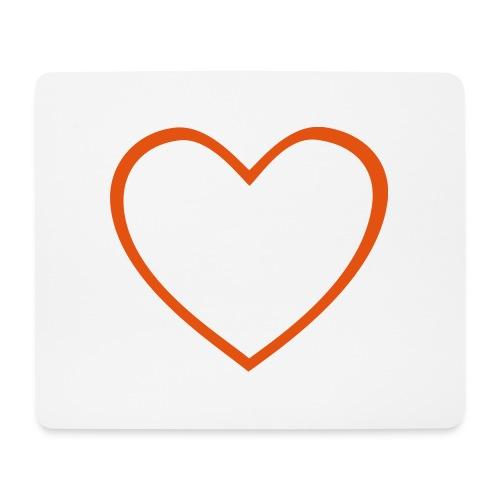 Hjärta 4 - Musmatta (liggande format)