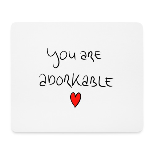 adorkable - Mouse Pad (horizontal)