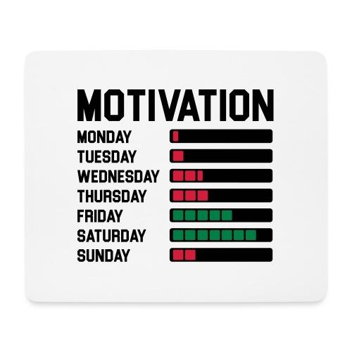 Wochen Motivation - Mousepad (Querformat)