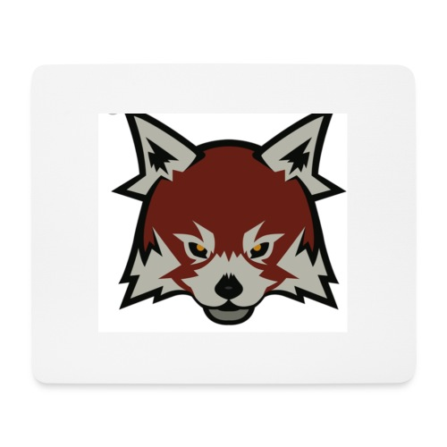 Red panda merch - Mouse Pad (horizontal)