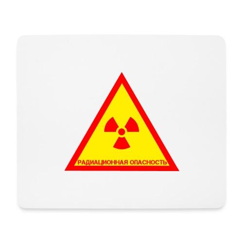 Achtung Radioaktiv Russisch - Mousepad (Querformat)