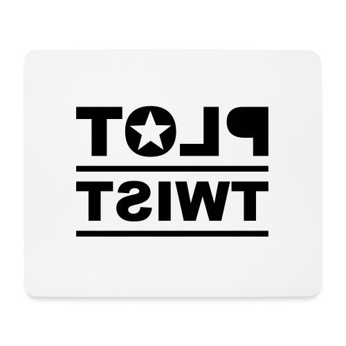 PLOT TWIST - Mousepad (Querformat)