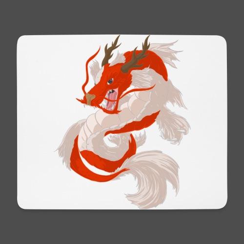 Dragon koi - Tappetino per mouse (orizzontale)