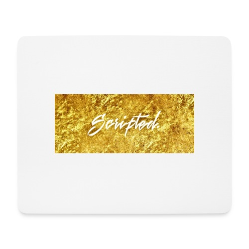 Scripted. Box Logo - Mouse Pad (horizontal)