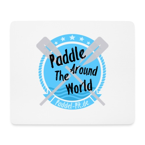 Paddle Around The World - Mousepad (Querformat)