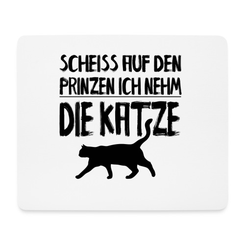 Katze Katzen Katzenliebhaber Geschenk Katzenliebe - Mousepad (Querformat)