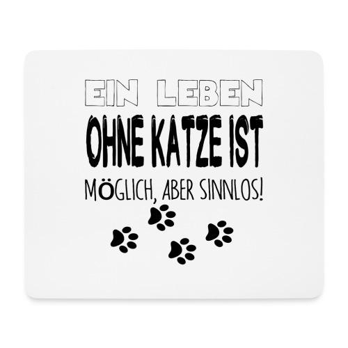 Katzen Katze Geschenk Katzenliebhaber Cat - Mousepad (Querformat)