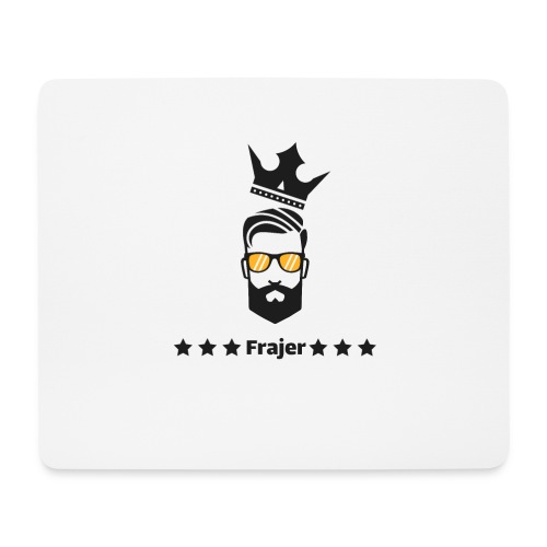 King Frajer - Mousepad (Querformat)