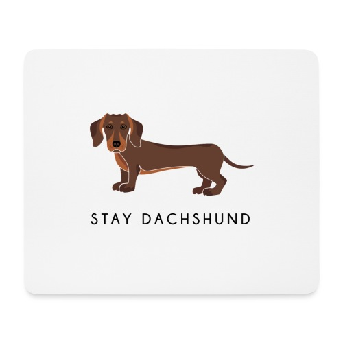 Dachshund Brown - Tappetino per mouse (orizzontale)