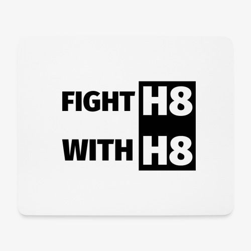 FIGHTH8 dark - Mouse Pad (horizontal)