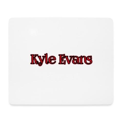 KYLE EVANS TEXT T-SHIRT - Mouse Pad (horizontal)