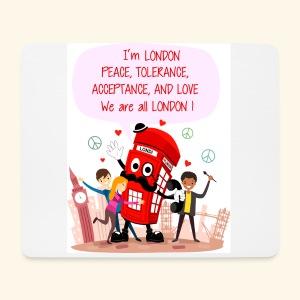 Londi London (Design No 5) - Mouse Pad (horizontal)