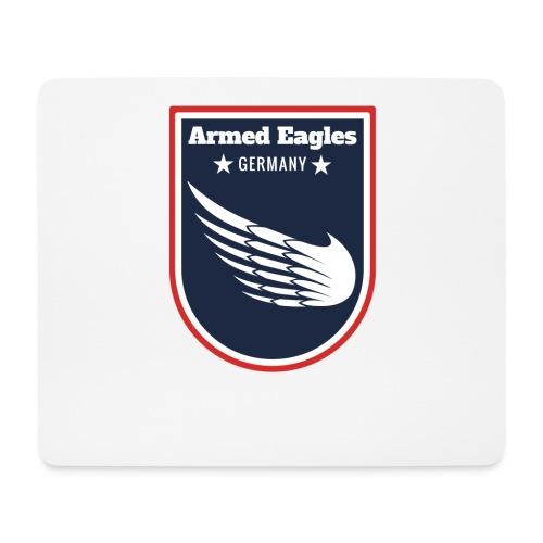 Armed Eagles com Logo B - Mousepad (Querformat)