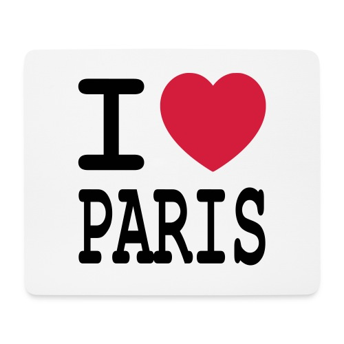 I love Paris - Muismatje (landscape)