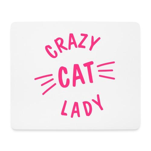 Vorschau: Crazy Cat Lady meow - Mousepad (Querformat)