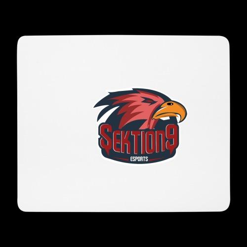 Sektion9 logo Rot - Mousepad (Querformat)