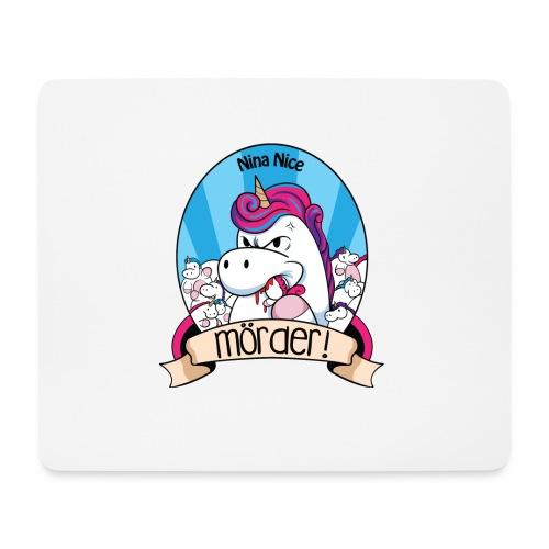 Murder Unicorn - Mousepad (Querformat)