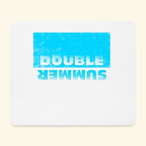 Double Summer - Mousepad (Querformat)
