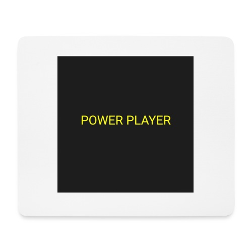 Power player - Tappetino per mouse (orizzontale)