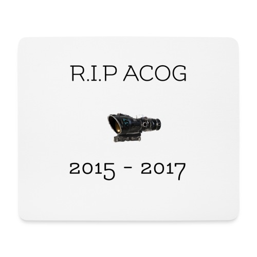 R.I.P ACOG 2015-2017 Collection - Mouse Pad (horizontal)