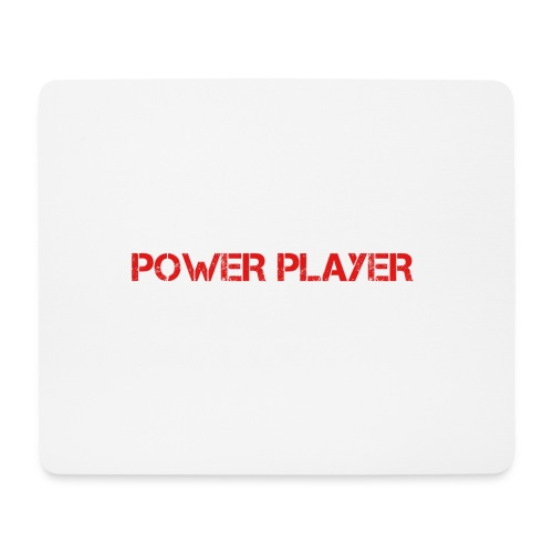 Linea power player - Tappetino per mouse (orizzontale)