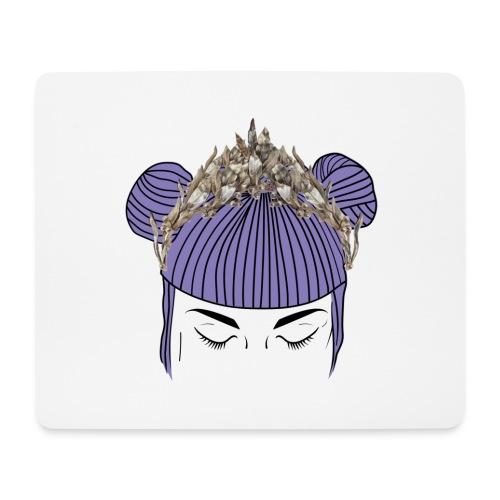 Queen girl - Alfombrilla de ratón (horizontal)