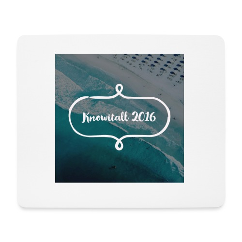 Knowitall 2016 - Mouse Pad (horizontal)