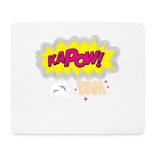 kaboum bam - Tapis de souris (format paysage)