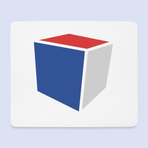 Cube Minimaliste - Tapis de souris (format paysage)