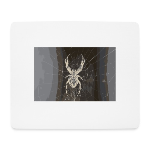 attacking spider - Mousepad (Querformat)