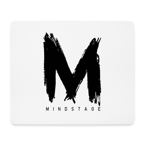 Logo Schwarz - Mousepad (Querformat)