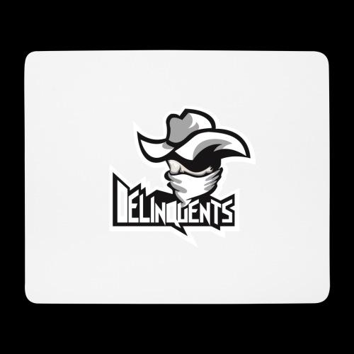 Delinquents Sort Design - Mousepad (bredformat)