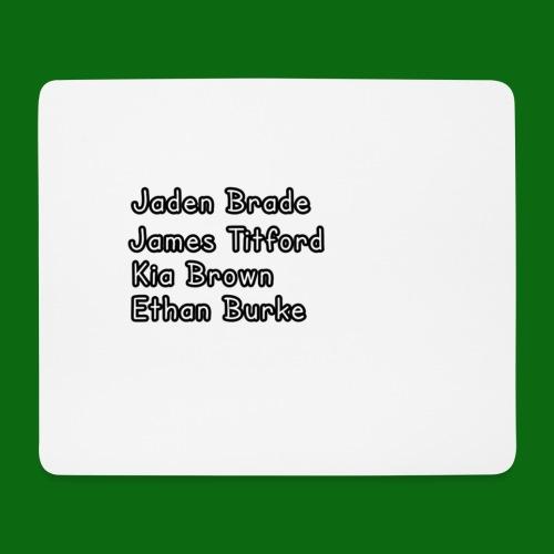 Glog names - Mouse Pad (horizontal)