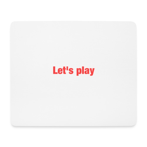 Let's play - Mouse Pad (horizontal)