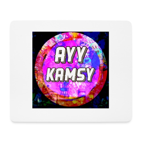 AyyKamsy Logo Accesorie - Mouse Pad (horizontal)
