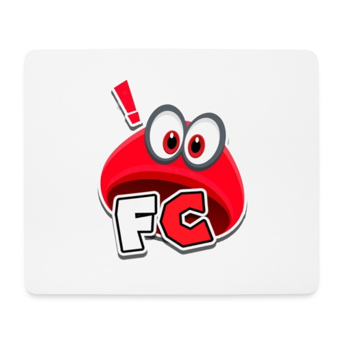 Flying Cappys Logo! - Mousepad (Querformat)
