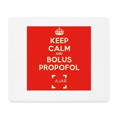 Keep calm and bolus PROPOFOL ! - Tapis de souris (format paysage)